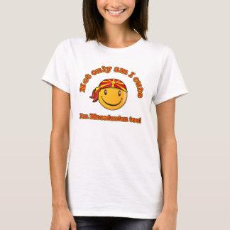 Not only am I cute I'm Macedonian too T-Shirt