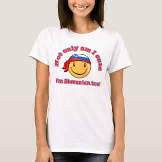 Not only am I cute I'm Slovenian too! T-Shirt