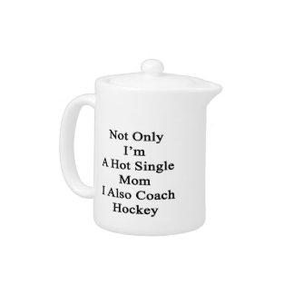 Not Only I'm A Hot Single Mom I Also Coach Hockey.