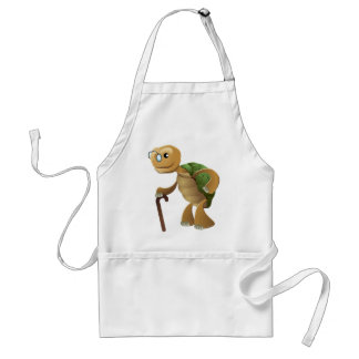Not over the hill! standard apron