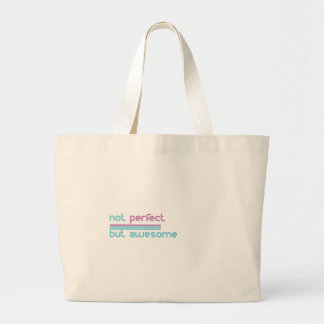 Not perfect.... large tote bag