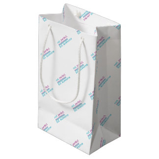 Not perfect.... small gift bag