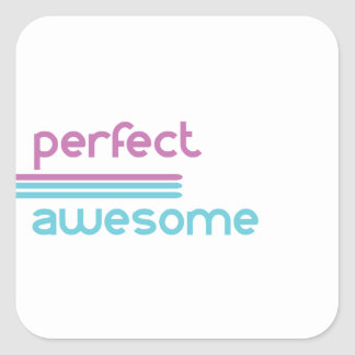 Not perfect.... square sticker