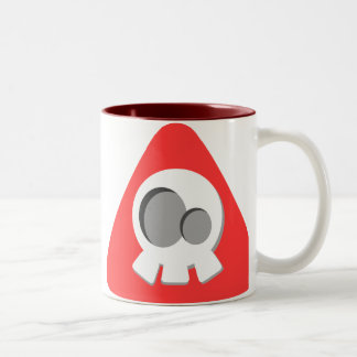 Not Poison Two-Tone Coffee Mug
