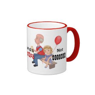 Not Retired Promoted Grandpa Mug