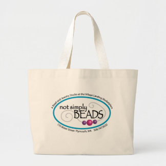 not simply BEADS Large Tote Bag