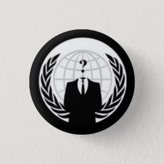 Not So Anonymous 1 Inch Round Button