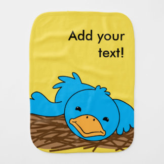 Not So Early Bird Burp Cloths