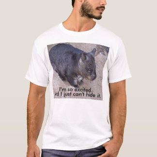 Not-So-Excited Wombat T-Shirt