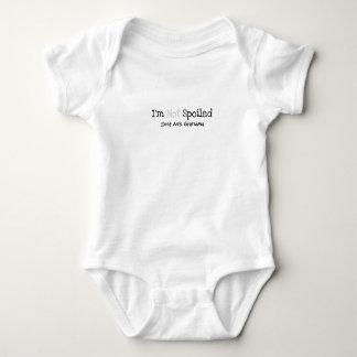 Not Spoiled Baby Bodysuit