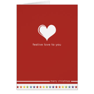Not Straight Design 'Festive Love to You' Card