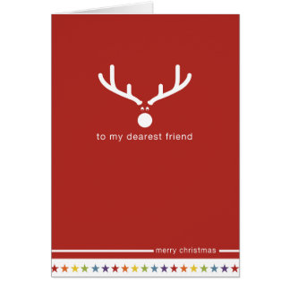 Not Straight Design 'My Dearest Friend' Card
