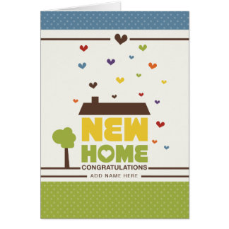 Not Straight Design - New Home Card