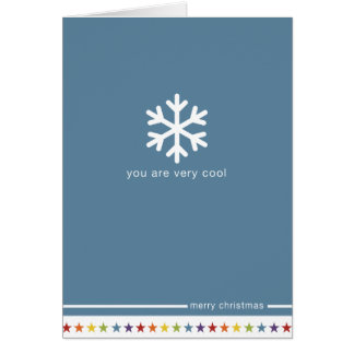 Not Straight Design 'You are Very Cool' Card