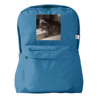 Not Talking to you Dave American Apparel Backpack