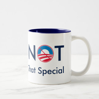 Not That Special (Obama) Two-Tone Coffee Mug
