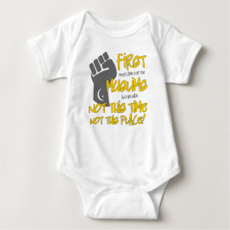 Not This Place Baby Bodysuit