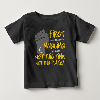 Not This Place Baby Dark Jersey T-Shirt