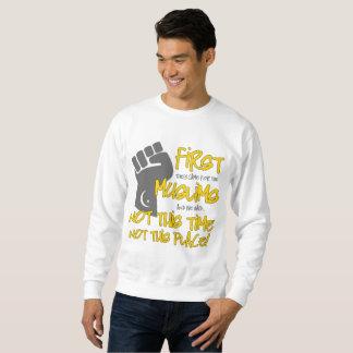 Not This Place Men's Basic Sweatshirt