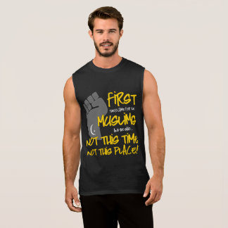 Not This Place Men's Dark Muscle Tank
