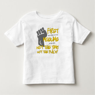 Not This Place Toddler Jersey T-Shirt