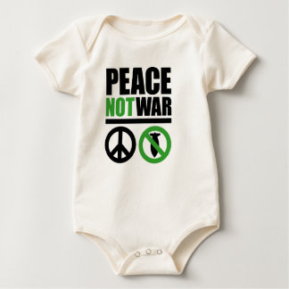 NOT TO THE WAR IF TO LA PAZ BABY BODYSUIT