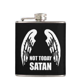 Not Today Satan Hip Flask