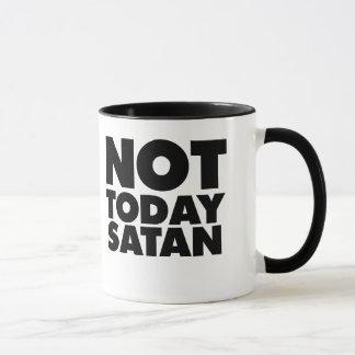 Not today Satan Mug