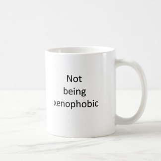 Not voting for xenophobia. (or Labour) Coffee Mug