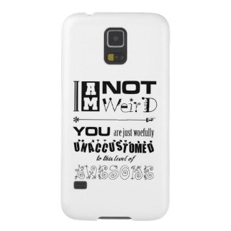 Not Weird Samsung Galaxy Nexus Barely There Case