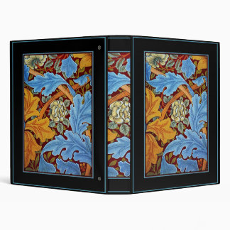 NOT WORKING See Below William Morris Blue Floral Binders