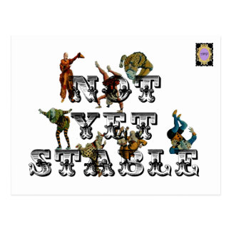 Not Yet Stable Postcard
