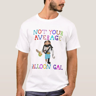 Not Your Average Balloon Gal Balloon Pirate T-Shirt