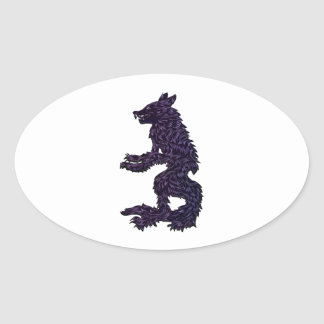 Not Your Average Grandma Oval Sticker