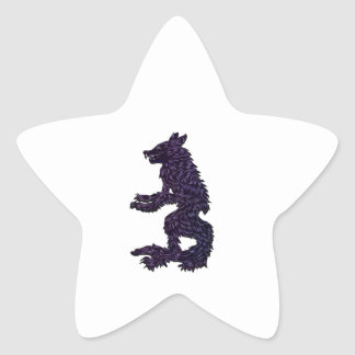 Not Your Average Grandma Star Sticker