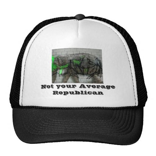 Not your avg Republican Hats