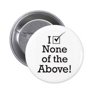 NOTA Badge 2 Inch Round Button