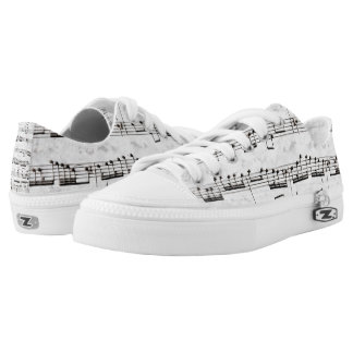 Nota Bene (black and white) Low-Top Sneakers