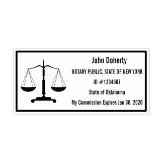 Notary Stamp Easy to Read Right For You | Comm. #
