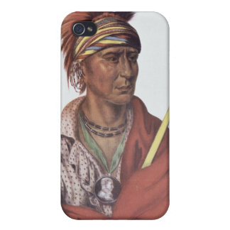 Notchimine or No Heart, an Iowa Chief iPhone 4/4S Cover
