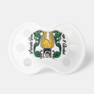 Not'Cho Average Guardians Crest Baby Pacifier