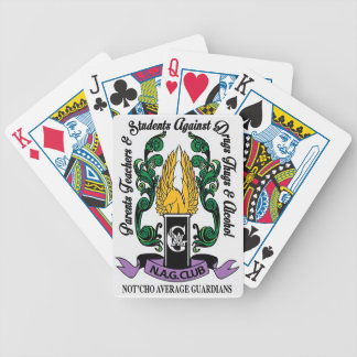 Not'Cho Average Guardians Crest Bicycle Playing Cards