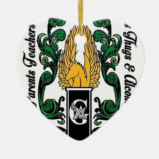 Not'Cho Average Guardians Crest Ceramic Ornament