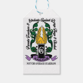 Not'Cho Average Guardians Crest Pack Of Gift Tags