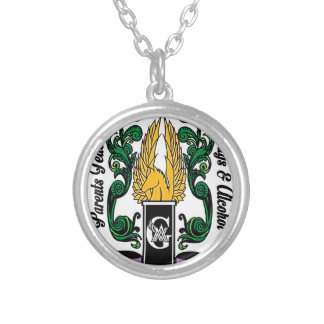Not'Cho Average Guardians Crest Silver Plated Necklace