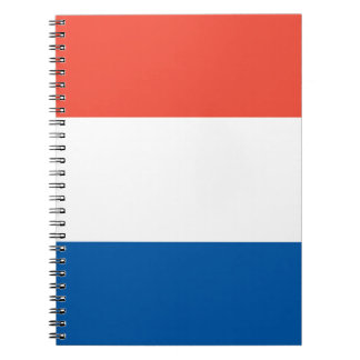 Note book France flag