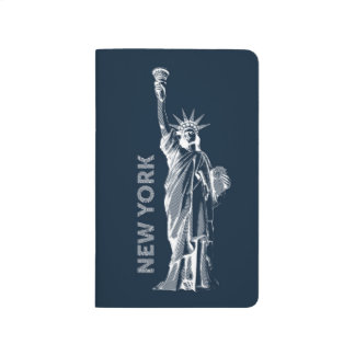 Note book. Liberty, Statue of Liberty, New York, Journal