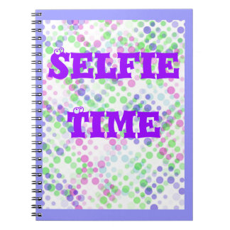 Note Book Selfie Time