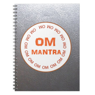 Note Book Silver Sparkle Leather Look design