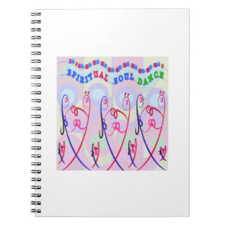 Note Book Silver Sparkle SPIRITUAL SOUL DANCE